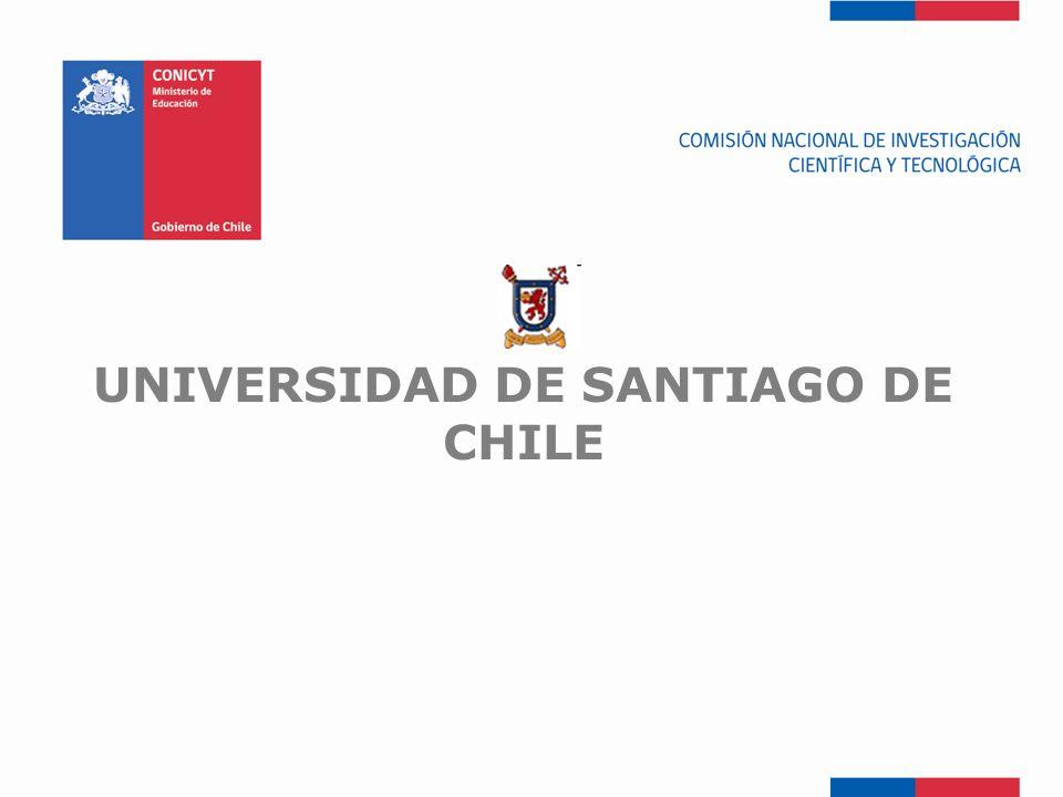 FONDEF-Fondo de Fomento UNIVERSIDAD DE SANTIAGO DE CHILE