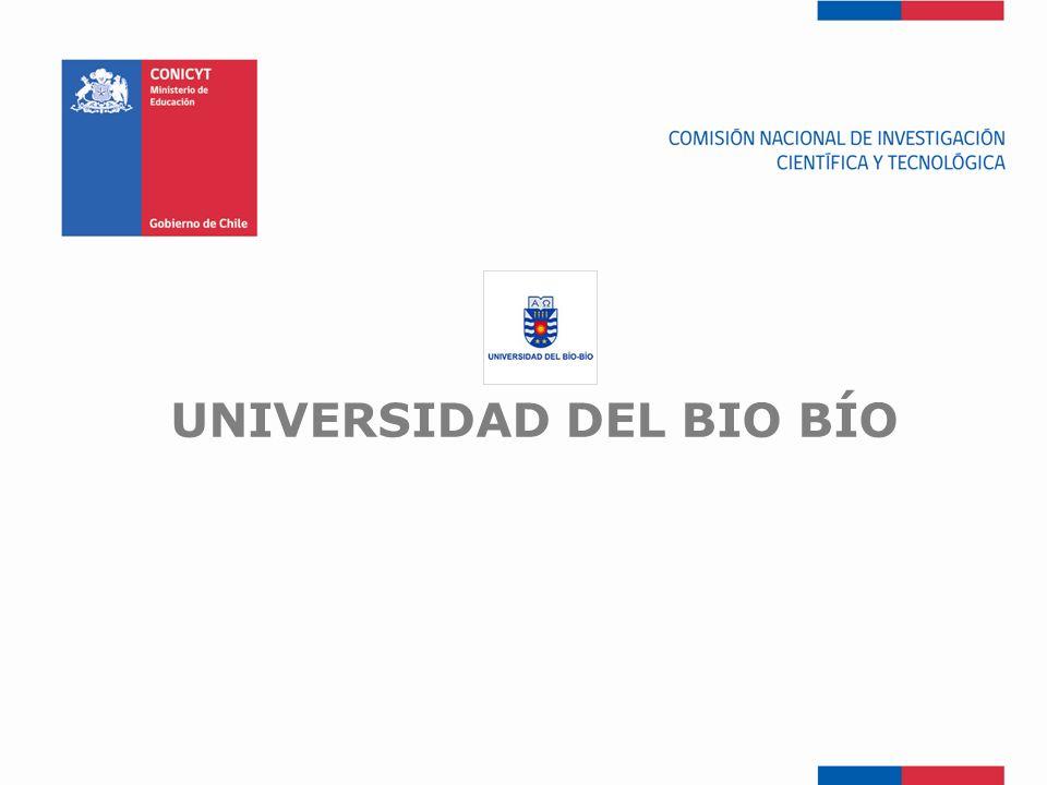 FONDEF-Fondo de Fomento UNIVERSIDAD DEL BIO BÍO