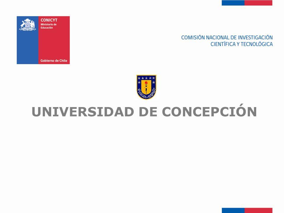 FONDEF-Fondo de Fomento UNIVERSIDAD DE CONCEPCIÓN