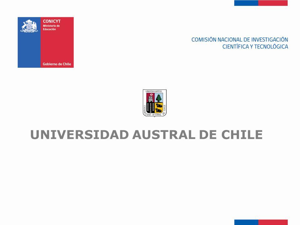 FONDEF-Fondo de Fomento UNIVERSIDAD AUSTRAL DE CHILE