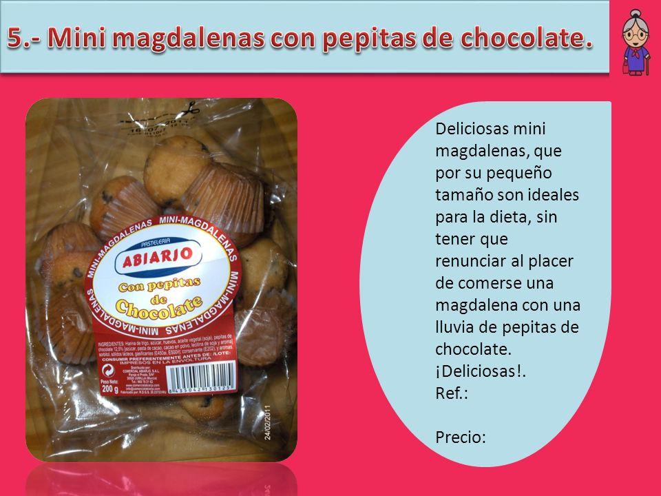 Deliciosas mini magdalenas, que por su pequeño tamaño son ideales para la dieta, sin tener que renunciar al placer de comerse una magdalena con una ll