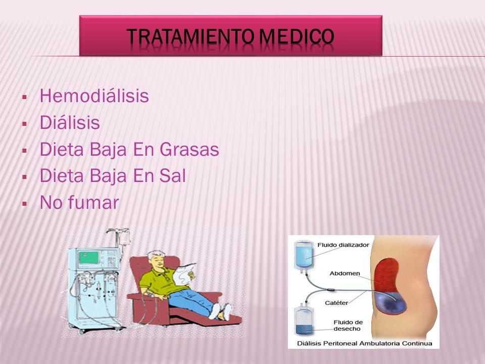 Hemodiálisis Diálisis Dieta Baja En Grasas Dieta Baja En Sal No fumar