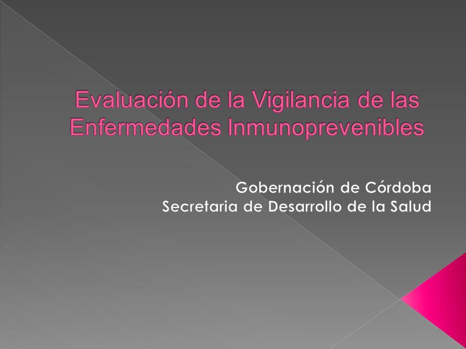 EVALUACION DE LOS INDICADORES DE VIGILANCIA EPIDEMIOLOGICA PAROTIDITIS INDICADORESCUMPLIMIENTO % DE UPGD QUE NOTIFICAN SEMANALMENTE 20/160 12.5% % DE COBERTURAS DE VACUNACIÓN IGUAL O MAYOR A 95% AL FINAL DEL AÑO 89% TAZA DE LETALIDAD 0/171 0%