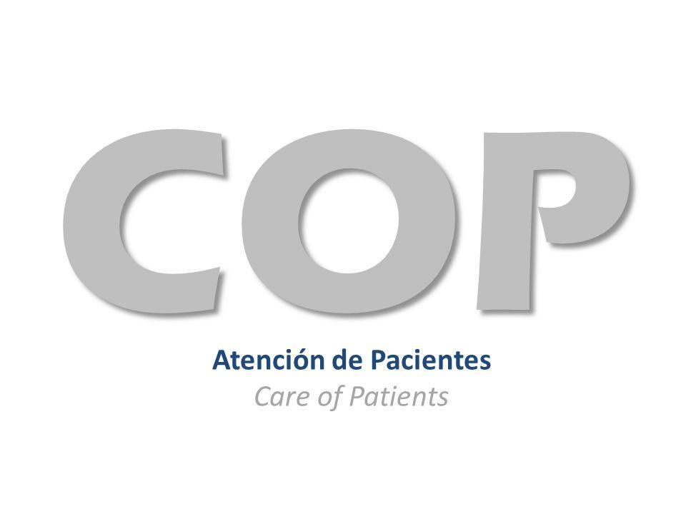 Atención de Pacientes Care of Patients COP