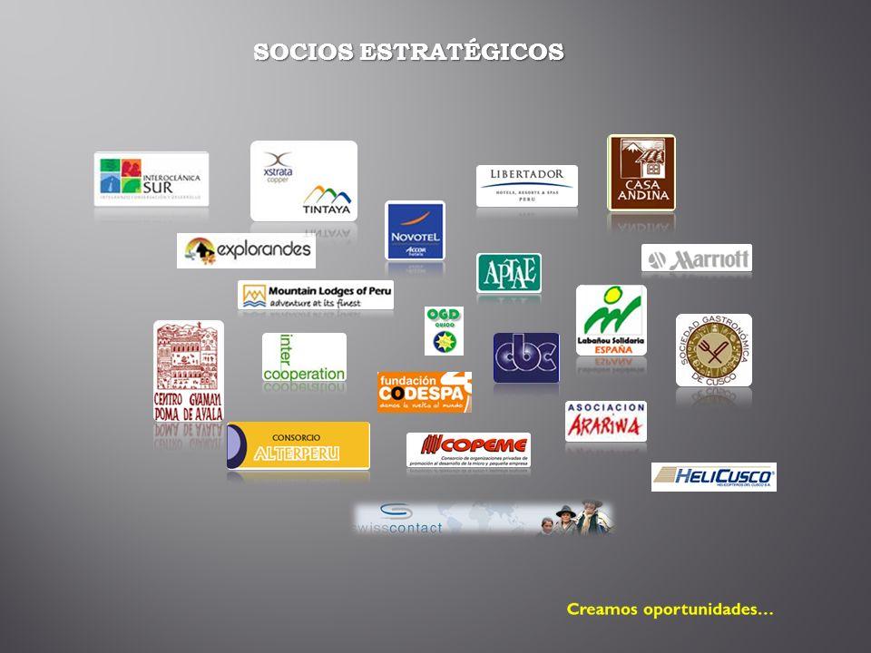 SOCIOS ESTRATÉGICOS