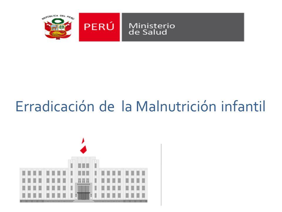 Erradicación de la Malnutrición infantil