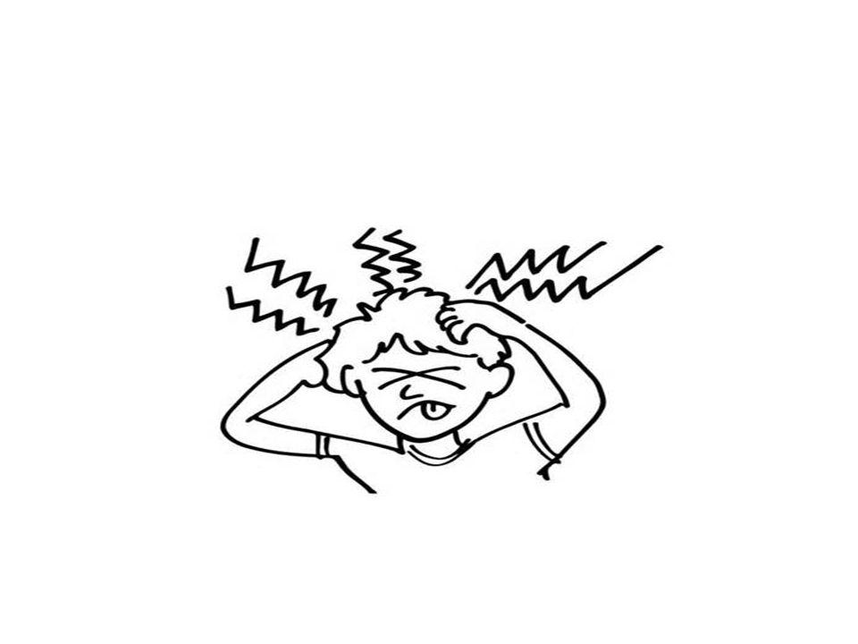 CEFALEA CRONICA NO PROGRESIVA Cefaleas de tipo tensional que son episodios que se presentan en el día; usualmente son constantes y de intensidad leve a moderada.