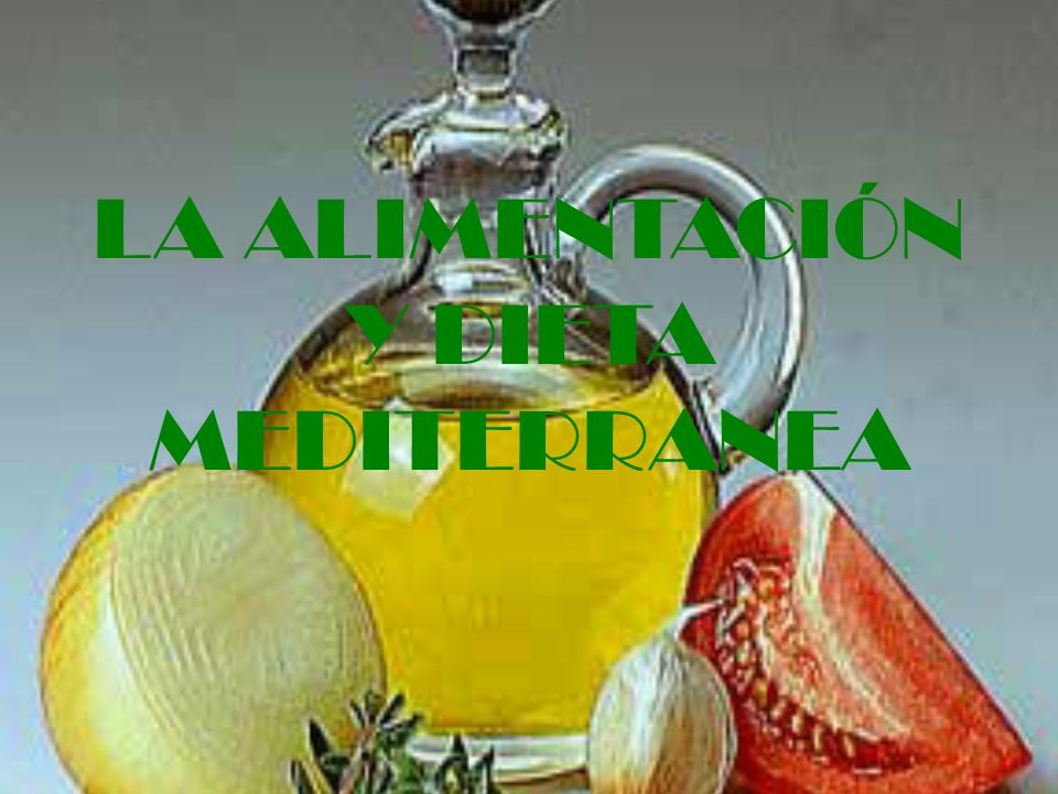 LA ALIMENTACION · La salud y buen funcionamiento de nuestro organismo, depende de la nutrición y alimentación que tengamos durante la vida.