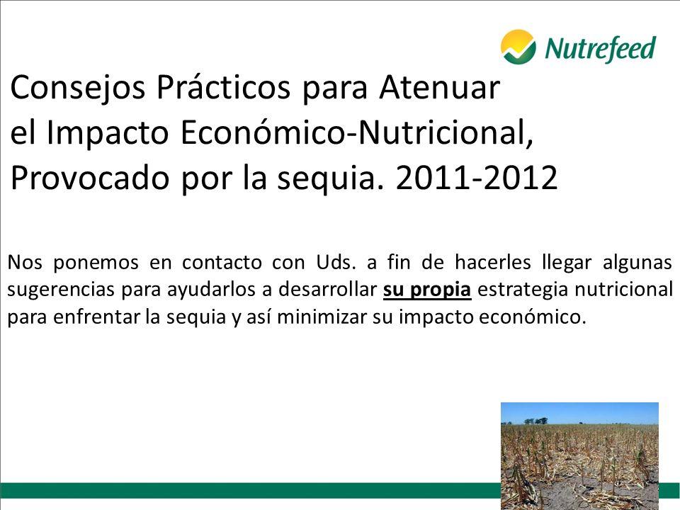 Consejos Prácticos para Atenuar el Impacto Económico-Nutricional, Provocado por la sequia.