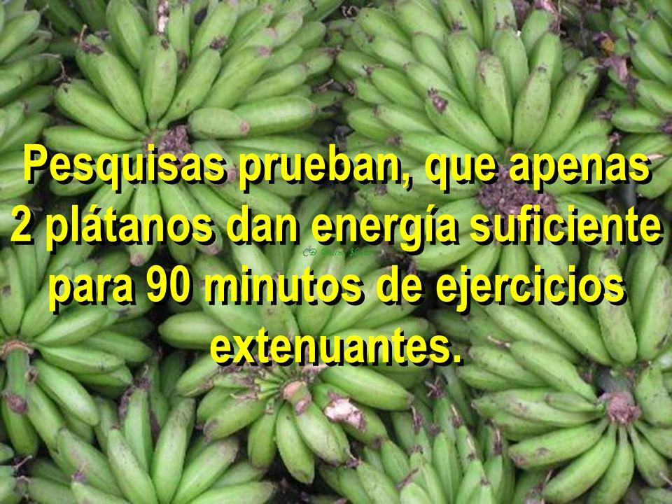 No es por nada que el pl á tano como energético, es la fruta Nº 1 de los atletas más exitosos del mundo.