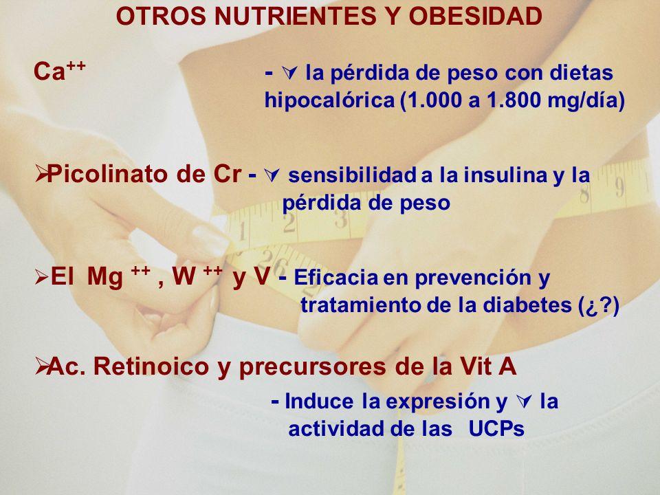 Ingrediente o planta medicinal Molécula activa Efecto sobre la pérdida de pesoReferencias bibliográficas CALCIOCa Si.