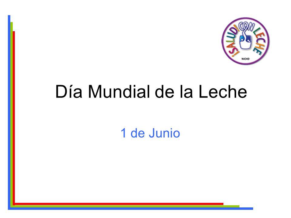 Día Mundial de la Leche 1 de Junio