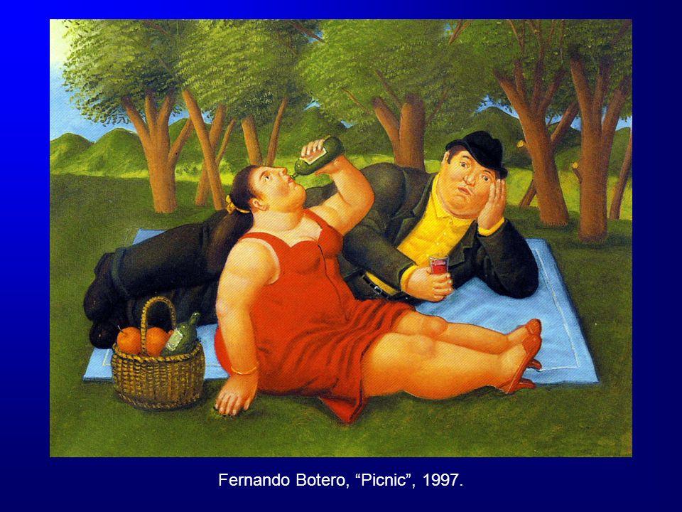 Fernando Botero, Picnic, 1997.