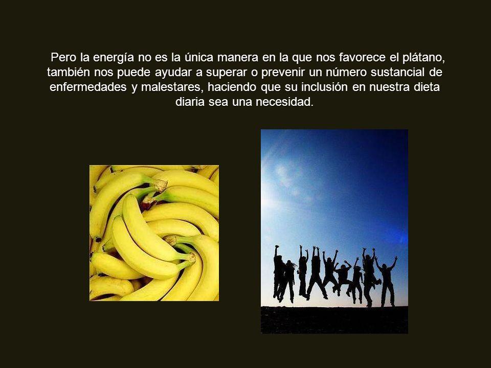 Si deseas una solución rápida para tus bajos niveles de energía, no hay mejor bocadillo que el plátano. El plátano contiene tres azúcares naturales: s