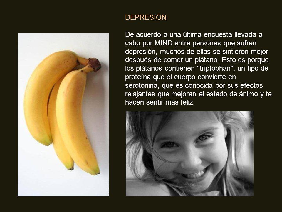 Pero la energía no es la única manera en la que nos favorece el plátano, también nos puede ayudar a superar o prevenir un número sustancial de enferme