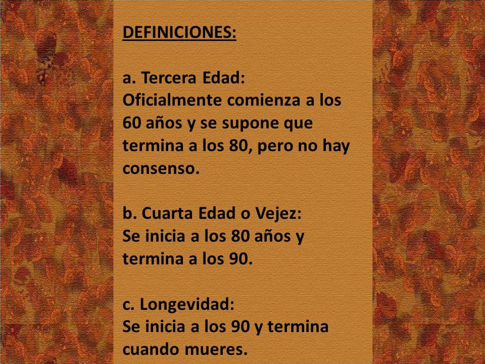 DEFINICIONES: a.