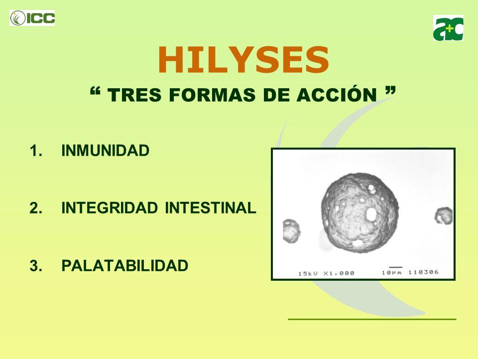 ESTRUCTURA de HILYSES RNA NUCLEÓTIDOS INOSITOL VITAMINAS PROTEÍNAS PÉPTIDOS DIPEPTIDOS PROTEINAS GLUTAMINA + GLUTAMATO