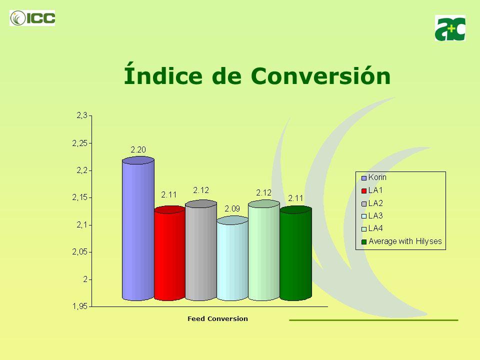 Experiencia 3: HILYSES efectos sobre acabados de broilers GRANJAS INTEGRADAS DA KORIN – ALL NATURAL Alimento 100% origen vegetal sin inclusión de prom
