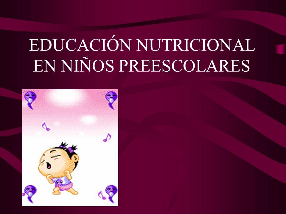 INDICE Características de la edad preescolar Crecimiento Actividad Física Rechazo de alimentos Consejos nutricionales Higiene alimentaria Bibliografia