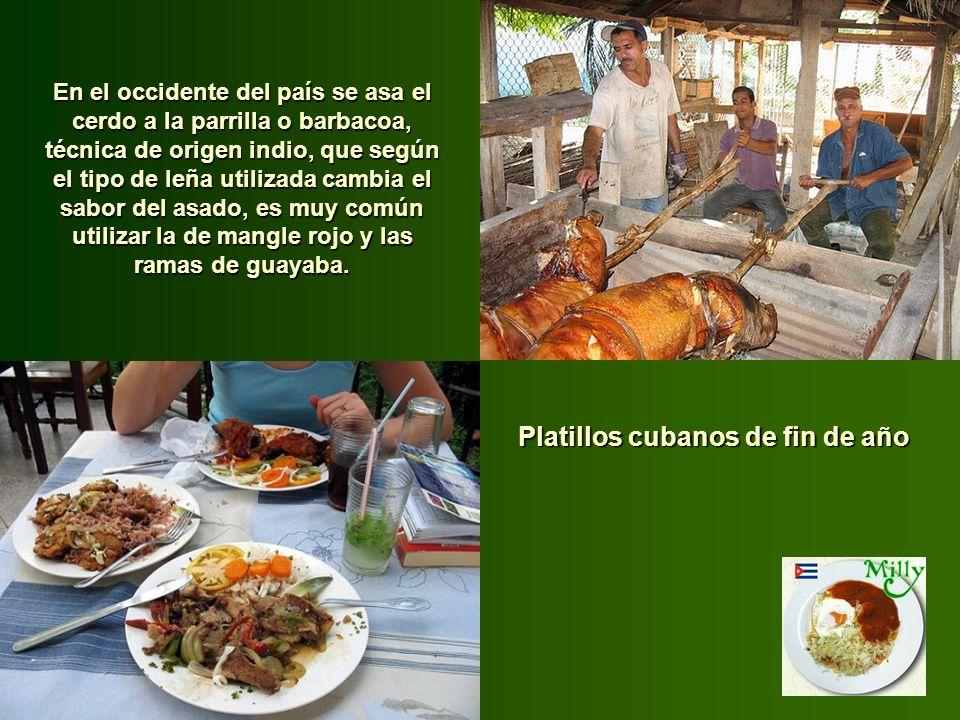 Mucha de la cocina cubana se apoya sobre algunos ingredientes básicos. Una base de salsa de tomate, los frijoles negros, los tubérculos (algunos tan e