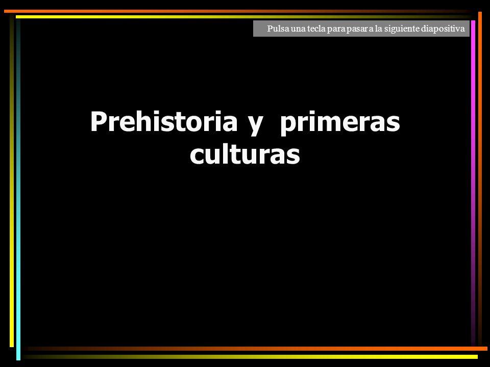Prehistoria y primeras culturas José Carlos Martínez Gávez IES Carmen Laffón Pulsa una tecla para pasar a la siguiente diapositiva