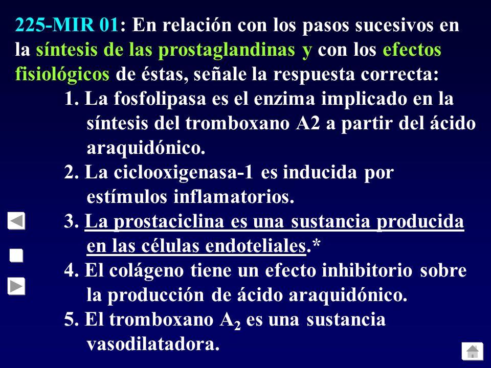 224-MIR 01: ¿Cuál de las siguientes es una función fisiológica importante de los ácidos biliares?: 1. La conjugación con sustancias tóxicas para permi