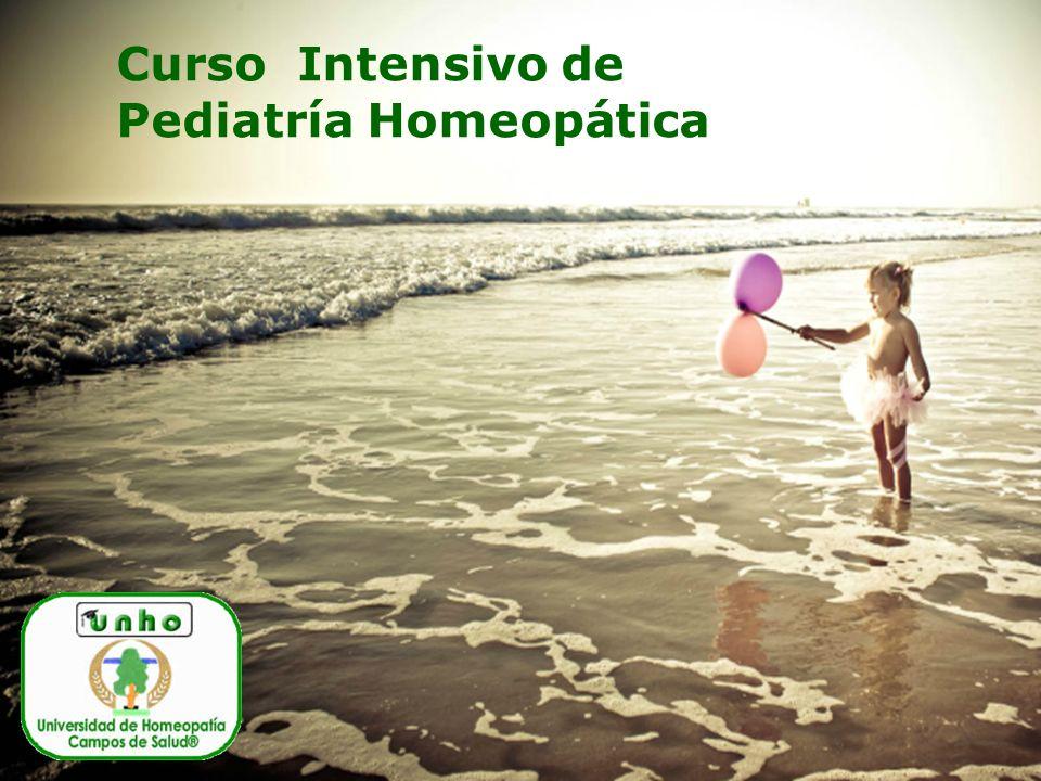 Curso Intensivo de Pediatría Homeopática