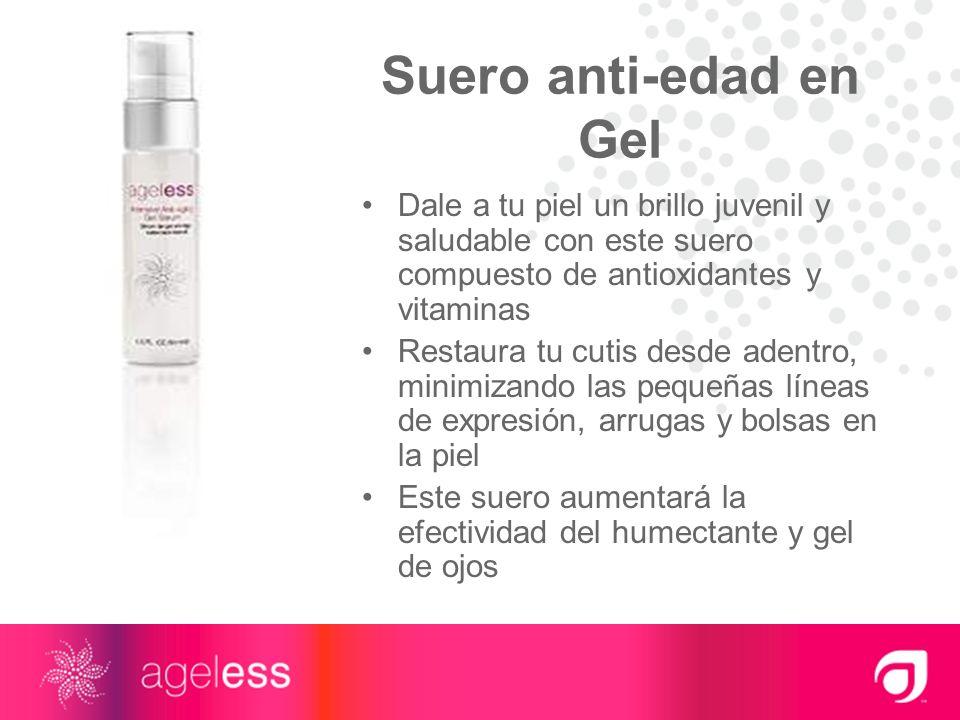 Suero anti-edad en Gel Dale a tu piel un brillo juvenil y saludable con este suero compuesto de antioxidantes y vitaminas Restaura tu cutis desde aden