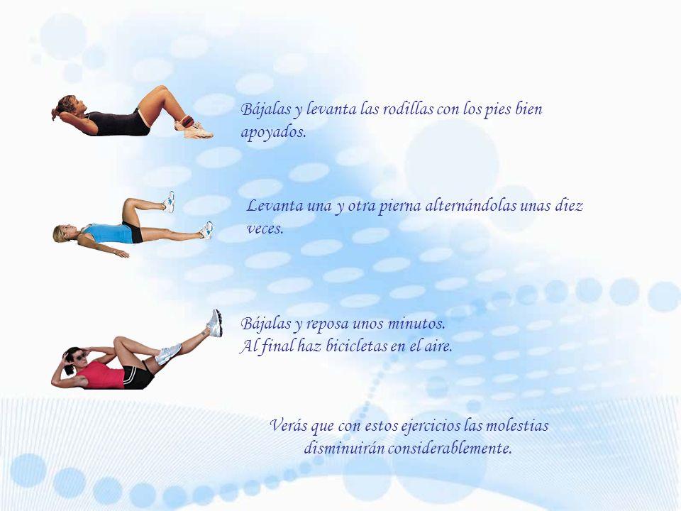 ¿ S ientes tus piernas pesadas.5 ejercicios fáciles que te dejan como nueva.