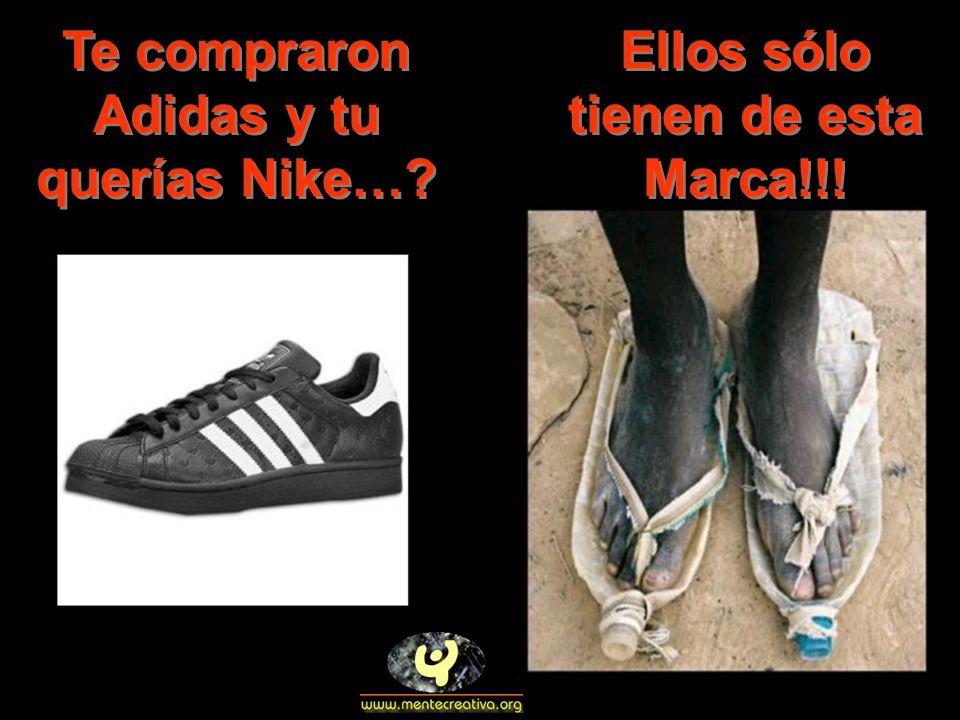 Te compraron Adidas y tu querías Nike…? Ellos sólo tienen de esta Marca!!!