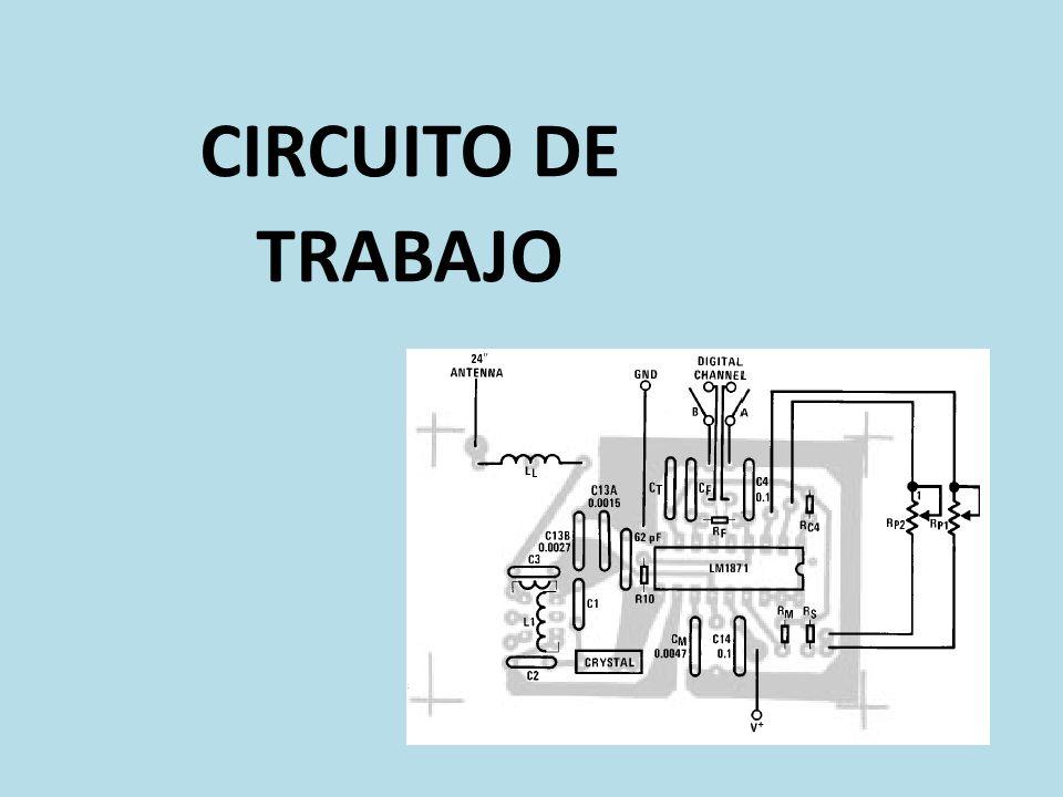 CIRCUITO DE TRABAJO