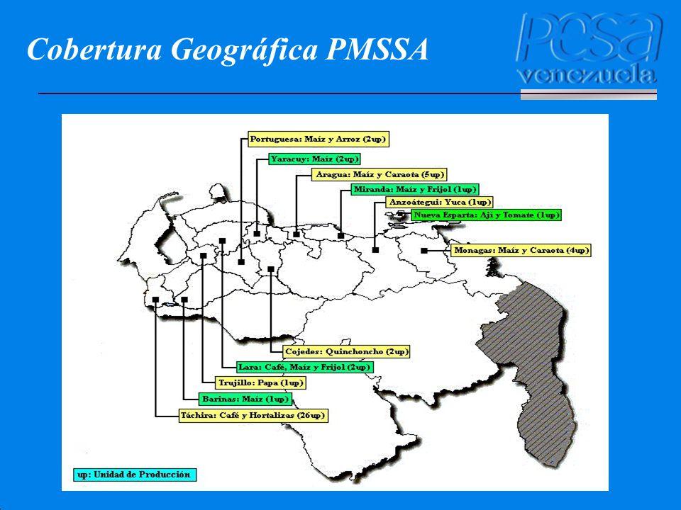 Cobertura Geográfica PMSSA