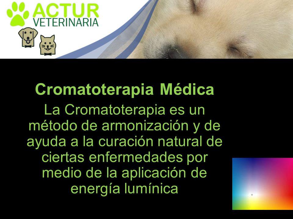 La Cromatoterapia es un método de armonización y de ayuda a la curación natural de ciertas enfermedades por medio de la aplicación de energía lumínica