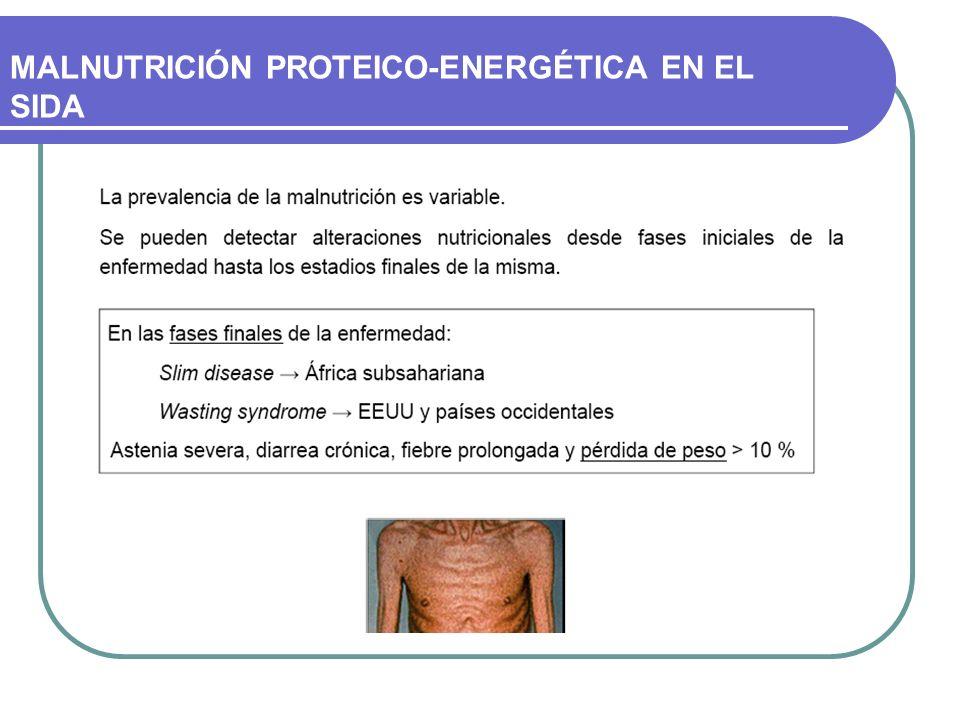 MALNUTRICIÓN PROTEICO-ENERGÉTICA EN EL SIDA