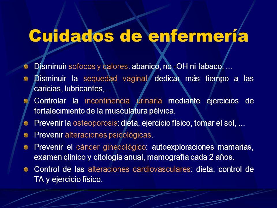 Tratamiento IV Riesgos de la TH Cáncer de mama Cáncer de endometrio Litiasis biliar Tromboembolismo venoso Efectos secundarios Sangrado. Irritación cu