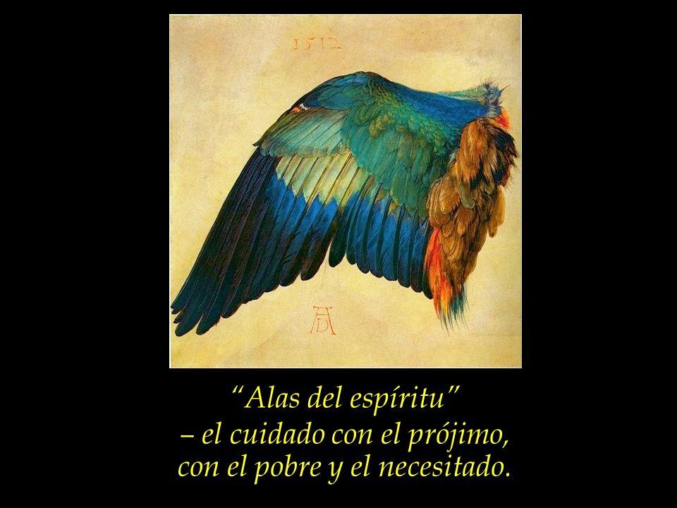 Alas del espíritu – el ser amante y defensor de la Justicia.