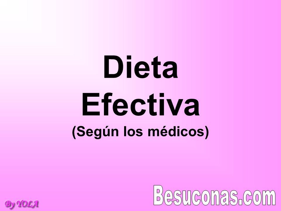 Si quieres perder unos kilos y no quieres ni pasar hambre ni hacer ejercicios fuertes, hay que seguir la dieta como se indica.