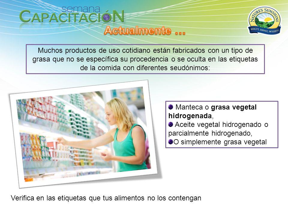 Muchos productos de uso cotidiano están fabricados con un tipo de grasa que no se específica su procedencia o se oculta en las etiquetas de la comida