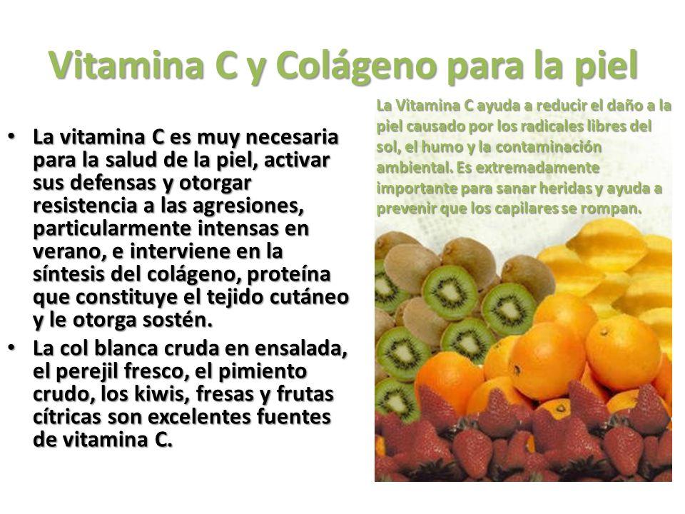 Vitamina E y Selenio para la piel La vitamina E es la vitamina antioxidante por excelencia protege y ayuda a mejorar el tejido celular, contrarresta con eficacia el envejecimiento, ayuda a mejorar la circulación sanguínea, un factor determinante para la salud de la piel.