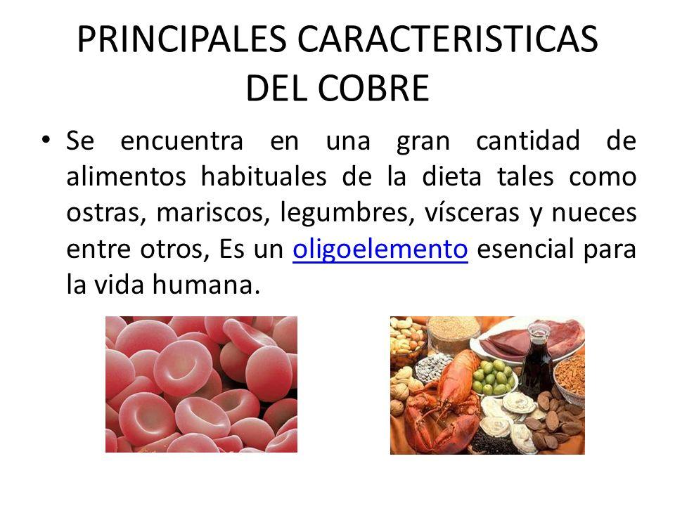 Se encuentra en una gran cantidad de alimentos habituales de la dieta tales como ostras, mariscos, legumbres, vísceras y nueces entre otros, Es un oli