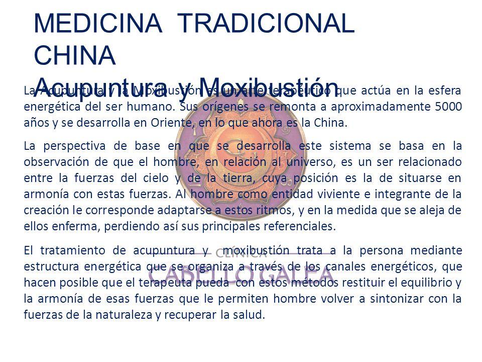 La Acupuntura y la Moxibustión es un arte terapéutico que actúa en la esfera energética del ser humano. Sus orígenes se remonta a aproximadamente 5000