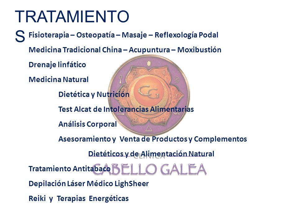 Fisioterapia – Osteopatía – Masaje – Reflexología Podal Medicina Tradicional China – Acupuntura – Moxibustión Drenaje linfático Medicina Natural Dieté