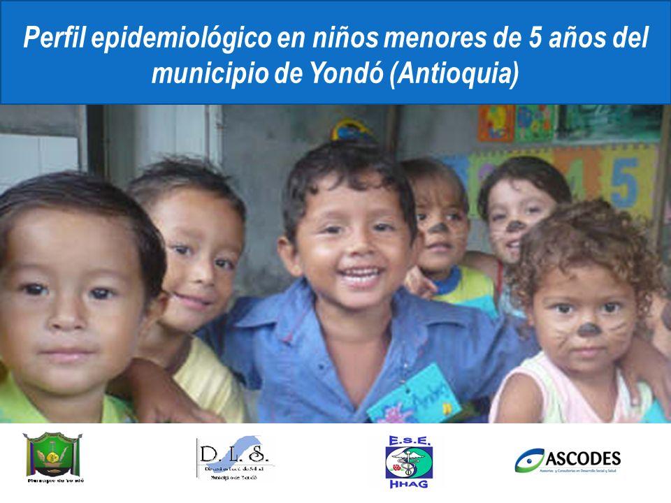 Perfil epidemiológico en niños menores de 5 años del municipio de Yondó (Antioquia)