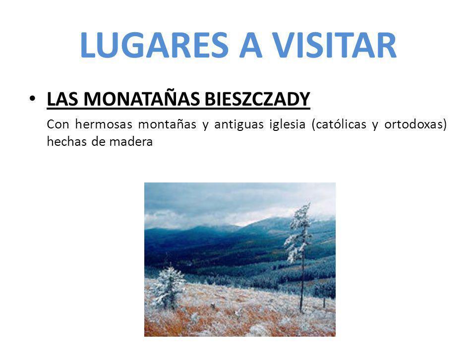 LUGARES A VISITAR LAS MONATAÑAS BIESZCZADY Con hermosas montañas y antiguas iglesia (católicas y ortodoxas) hechas de madera