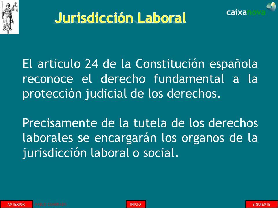 ANTERIOR PABLO CUMBRADO INICIOSIGUIENTE El articulo 24 de la Constitución española reconoce el derecho fundamental a la protección judicial de los der
