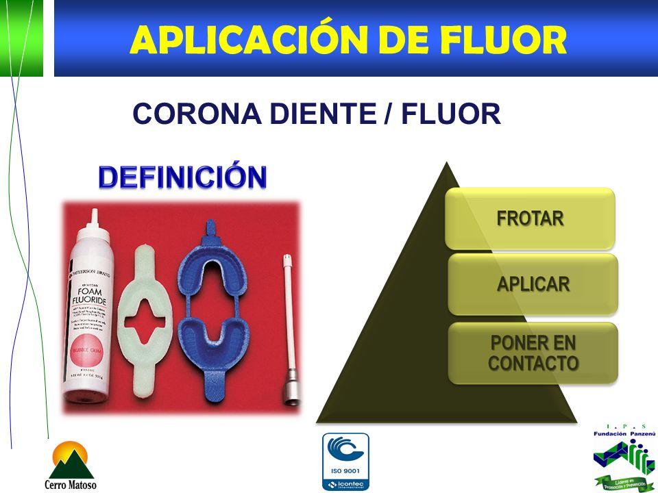 CORONA DIENTE / FLUOR