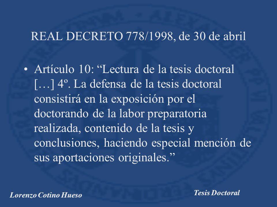 Lorenzo Cotino Hueso Tesis Doctoral CAPÍTULO V.