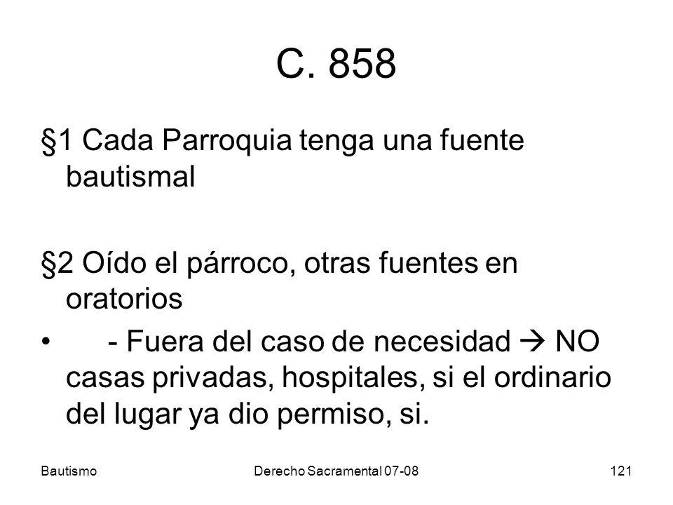 BautismoDerecho Sacramental 07-08121 C.
