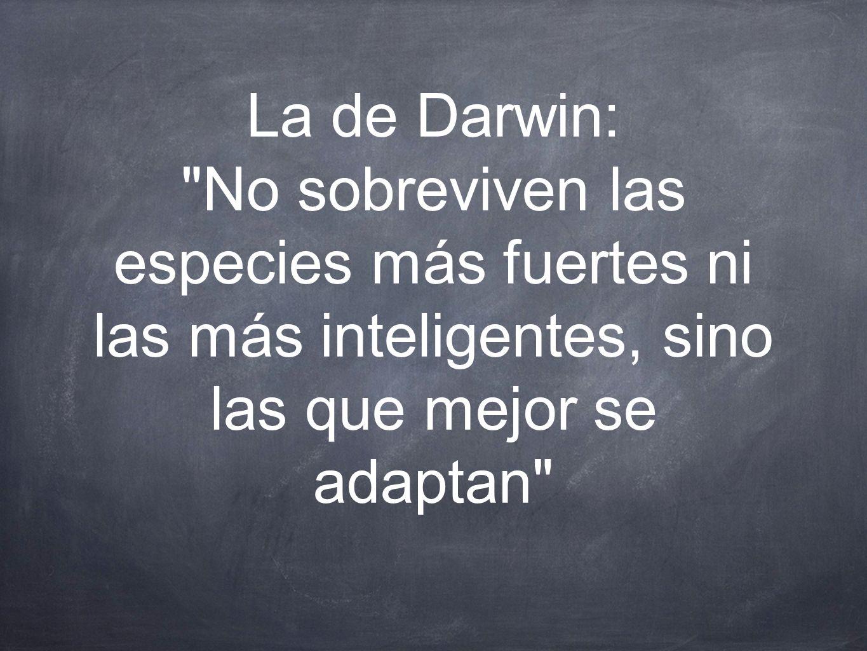 La de Darwin: