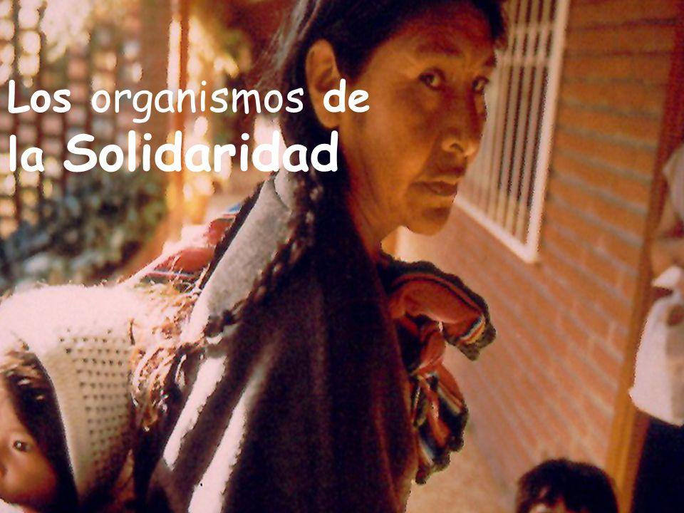 Los organismos de la Solidaridad
